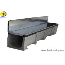 Side Slot Linear U Type Polymer Drainage Channel