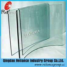 Preço de grosso de vidro moderado claro de 6mm 10mm 12mm