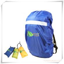 Capa de chuva de mochila esportiva com patch reflexivo para promoção