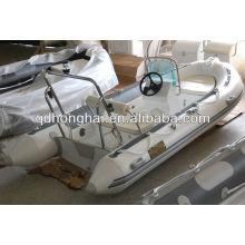 casco de fibra de vidro de luxo barco HH-RIB390 com CE