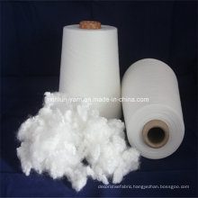 Customized Yarn Count Virgin 100% Polyester Spun Knitting Yarn