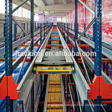 CE Certificated Radio Shuttle Racking with Pallet runner