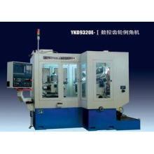 Industrial Gear Deburring Machine , Semi-Automatic Full-Enc