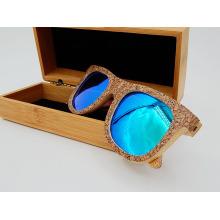 Óculos de sol de madeira de cortiça