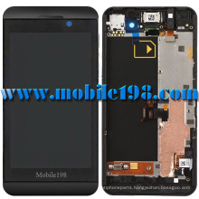 LCD and Digitizer Touch Screen with Frame for Blackberry Z10