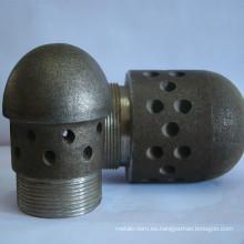 Cabezal de boquilla de pieza de fundición de caldera de central eléctrica CFBC