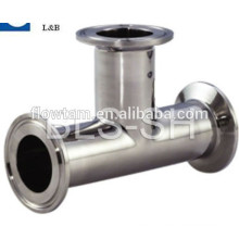 hot sale stainless steel clamp union tee