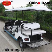 Chariot de golf à essence 6 + 2 places
