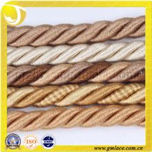 Doble cuerda decorativa para el amortiguador Decoración Sofá Decoración Salón Cama Habitación
