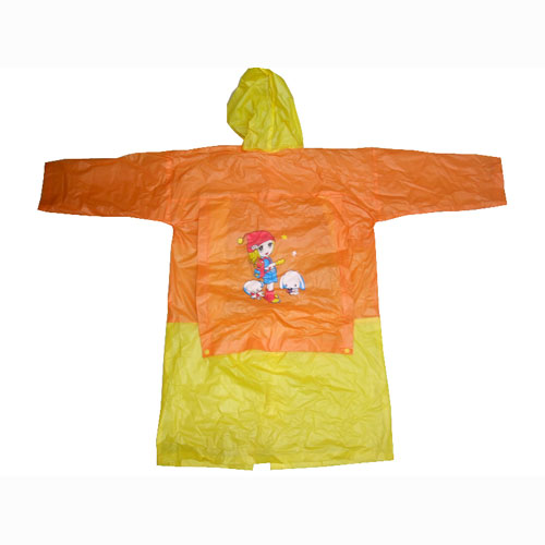 Kids Plastic PVC Raincoats