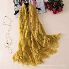 Top-Verkauf neuesten Stil Mode Damen Schal Dubai Schal Markt Großhandel