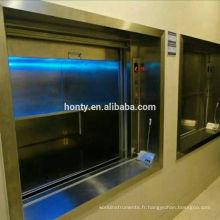 Equipement d'ascenseur de cuisine professionnel Ascenseur de nourriture