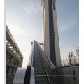 Escalier extérieur avec hausses hautes