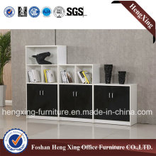 2 Door Melamine Office Furniture Book Shelf File Cabinet (HX-6M259)
