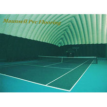 Indoor / Outdoor Professional PVC Tennis Sport Flooring