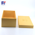 Hand made kraft  paper clothing packaging box
