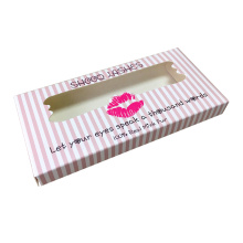 Groothandel Custom Pink Eyelash Tuck End Box
