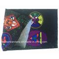 Fábrica de productos personalizados diseño impreso Microfibra elástico cuello bufanda multifuncional bufanda
