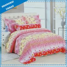 6 Stück Bettdecke mit Baumwolldruck (Set)