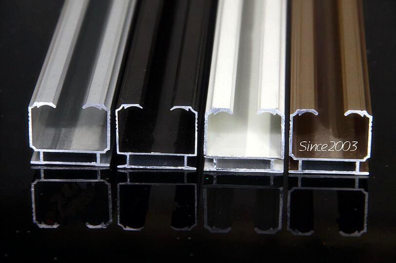 Various Surface Curtain Track Aluminum Profiles