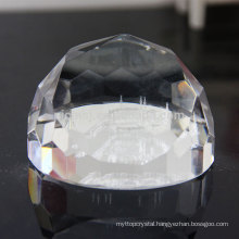 K9 Crystal Glass Paperweight 3D Laser Crystal Paperweight