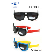 Newest Products Colorful Kid Plastic Sunglasses (PS1303)