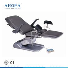 AG-S102C genehmigt Krankenhaus chirurgische elektrische Gynäkologie Ausrüstung Lieferung Betrieb Stuhl