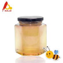 Miel d'acacia pur et lait