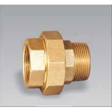 Brass pipe fitting brass Male and Female Union