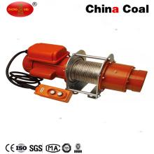 Pequeña cuerda de alambre eléctrica de alta velocidad que tira del alzamiento del torno 12V DC