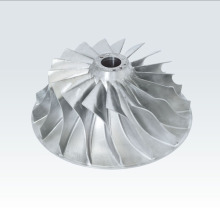 CNC Milling 6061 Aluminium Impeller Parts
