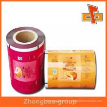 Packaging promotionnel promotionnel en Chine Producteur en plastique de film composite en Chine