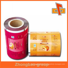 china promotional laminated packaging plastic composite film bag producer in china