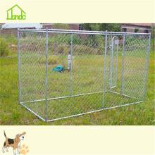 Wholesale canil de cachorro galvanizado de metal grande