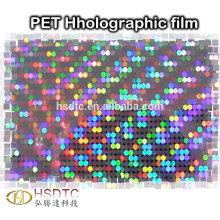Película de PET holográfica Película de láser de alta calidad