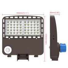 Luz LED para área de caja de zapatos para estacionamiento