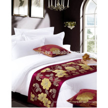 Ropa de cama de algodón satinado de alta calidad para 5 estrellas de lujo