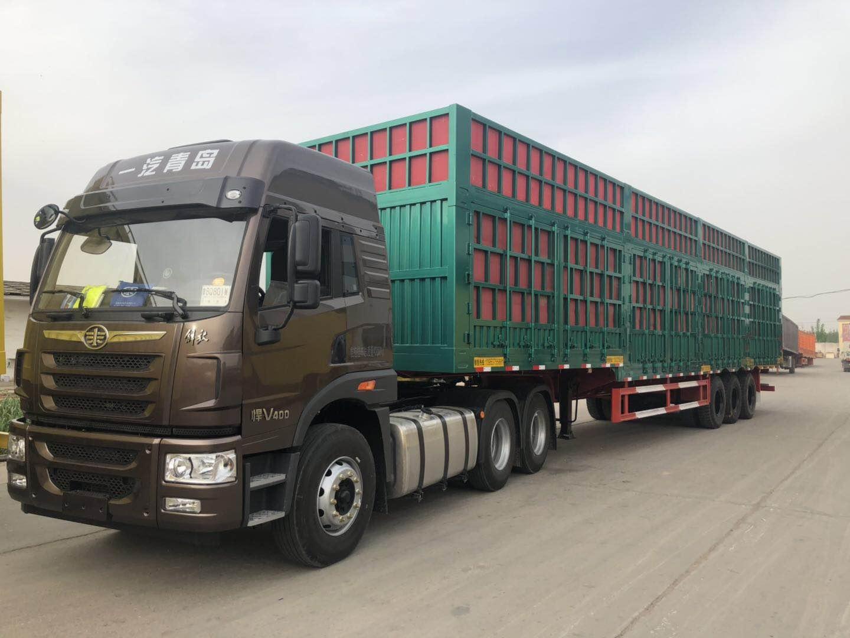 CHVM Container Transport Semi Trailer