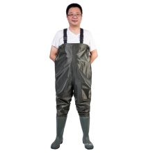 Mode PVC Nylon Brust Wader (7798P)