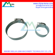 Stainless Steel American Worm Drive Clamp