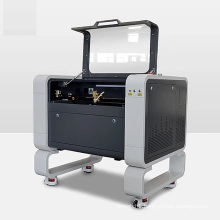WER4060 silicone wristband acrylic wood leather co2 laser engraving cutting machine price