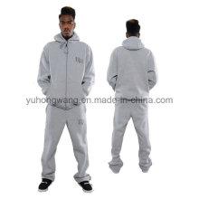 Personalizado pólo dos homens do algodão, camisola, Hoody Sports Suit