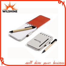 Popular Cheap Chinese Pocket Spiral Mini Notebook with Pen (PNB015)