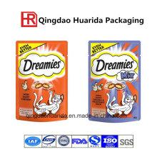 Folien-Haustier-Nahrungsmitteltaschen für kundenspezifisches Drucken