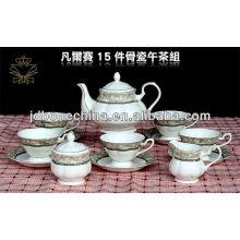 Чайная начинка чашки тонкой волны чашки & блюдце кость фарфор