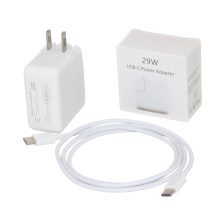 Adaptador de energia 29W USBC para carregador macbook apple