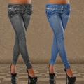 OEM Digital Impresión Jeans Leggings de las mujeres Spandex al por mayor