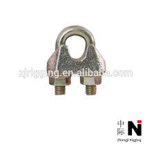 Abrazaderas de cable de acero de alta calidad DIN1142 con galvanizado
