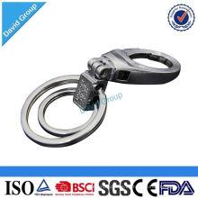 Llavero de encargo del metal del logotipo de encargo barato de encargo al por mayor popular de encargo del metal