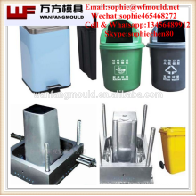 Plastic Street trash can injection mould made in China/OEM Custom Plastic Street trash can injection mold manufacturing